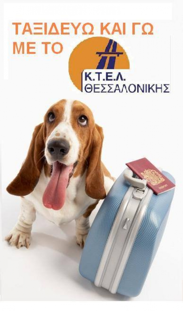 Pet transport with KTEL THESSALONIKIS S.A.